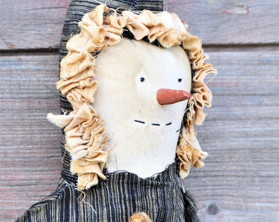 SALE! Primitive Snowman