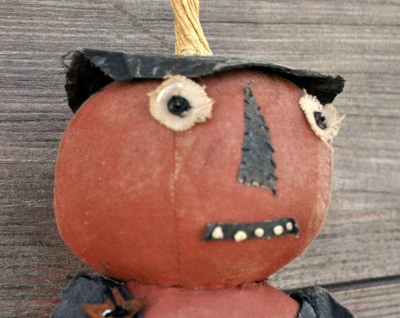 SALE! Primitive Standing Pumpkin Man