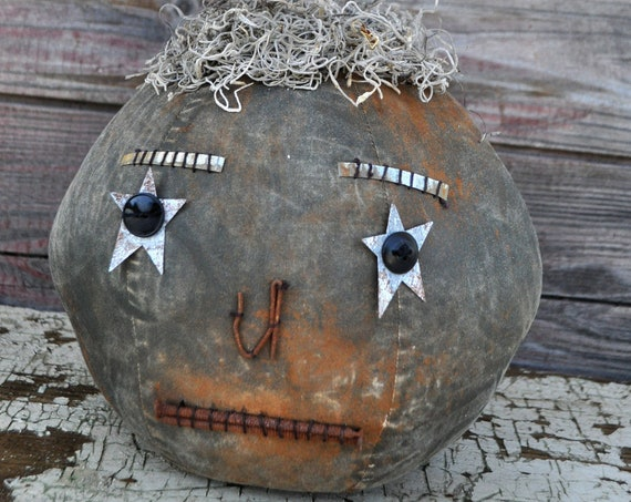Prim One-of-a-kind Black Jack-O-Lantern
