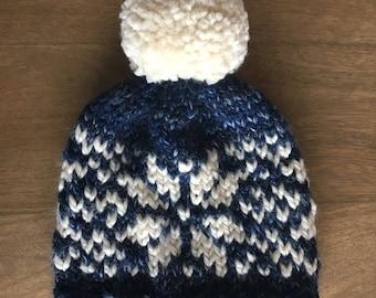 Nordic Snowflake Hat