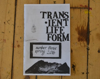 Trans-ient life form zine, issue 3