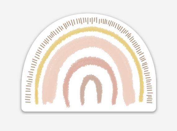 Neutral Rainbow Sticker