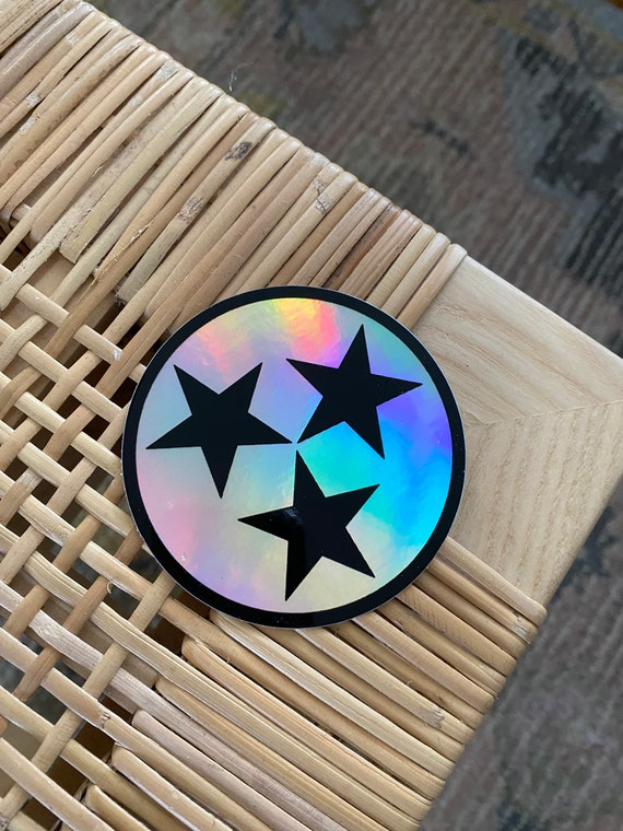 Tennessee Tristar Holographic Sticker