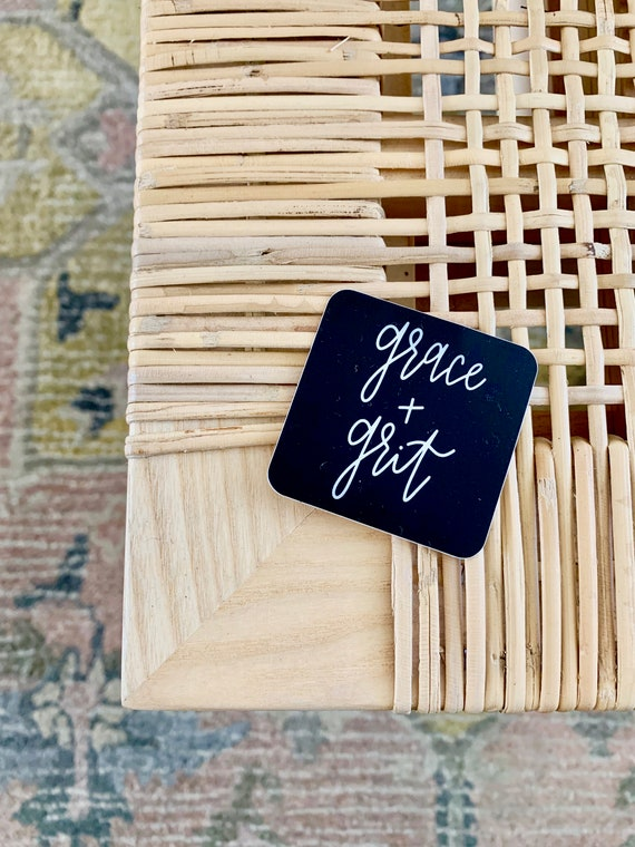 Grace + Grit Sticker