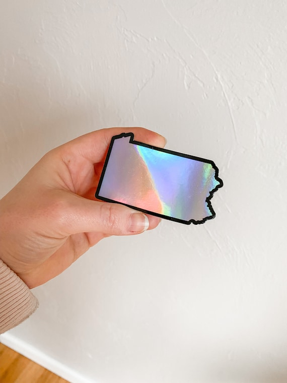 Holographic PA Sticker