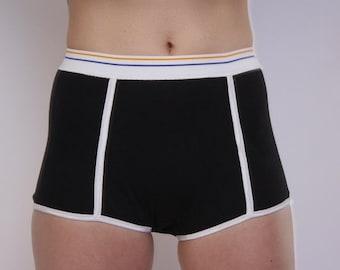 Period Briefs Black Period Underwear Absorbent Leak Proof Sport Butch Period Briefs