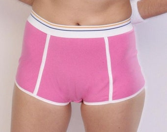 Period Briefs Pink Absorbent Comfortable Butch Period Underwear Trans Non Binary Period Undies
