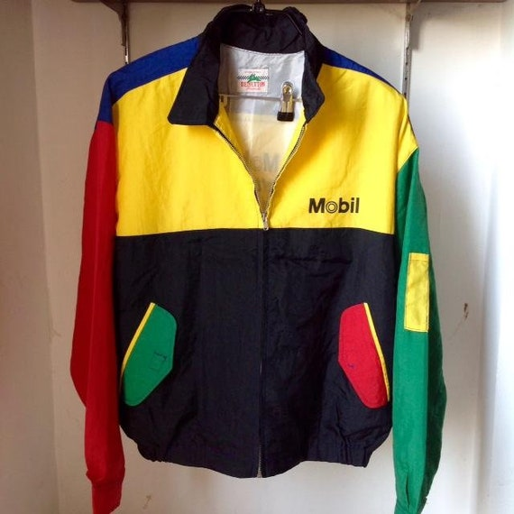 Vintage 80s BENETTON Formula1 hip hop snow beach j