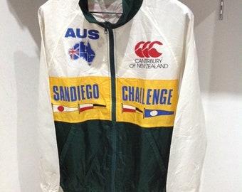 Vintage CANTERBURY of New Zealand rugby 1992 stadium jacket size M