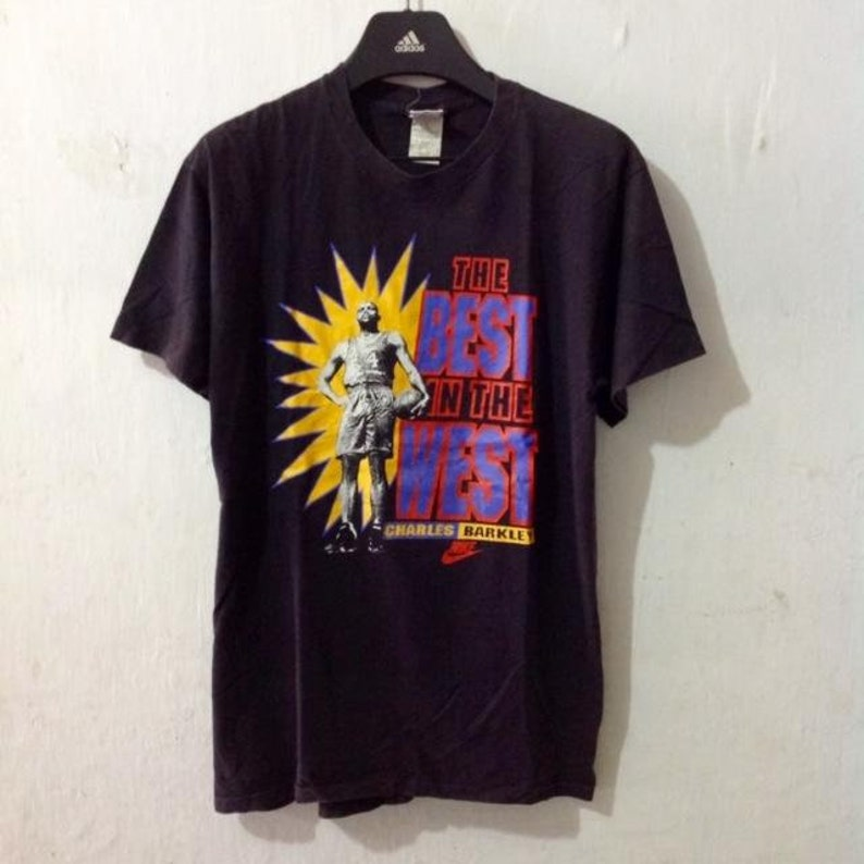 b805f6336c908 Vintage NIKE silver tag Charles Barkley basketball shirt size XL