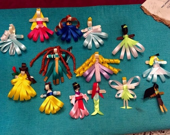 Handmade Disney Ribbon Hair Clip! Your Choice of Character!