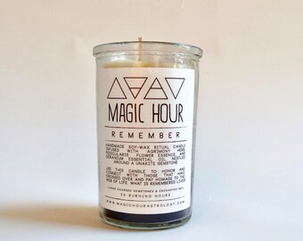 Remember Handmade Ritual Candle - Small