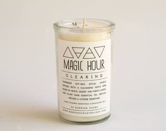 Clearing Handmade Ritual Candle - Small
