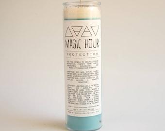 Protection Handmade Ritual Candle - Large
