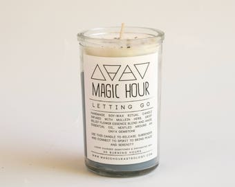 Letting Go Handmade Ritual Candle - Small