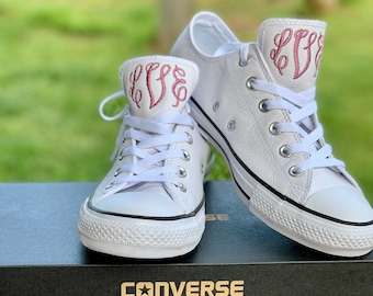 Wedding Converse - Monogrammed Shoes - Converse Shoes Womens - Converse - Personalized Converse Shoes - Converse Shoes