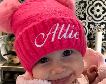 Baby Clothes - C C Beanies - Kids Beanies - Personalized Beanies