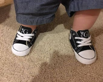 2d55e1c82934 Personalized Baby Converse - Baby Shoes - Baby Converse - Infant Shoes -  Baby Clothes - Converse - Cute Baby Clothes - Shoes