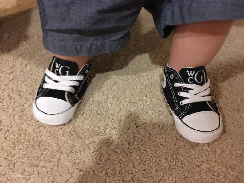 54b0b6ba54f49 Bébé personnalisé CONVERSE-Chaussures de bébé-bébé