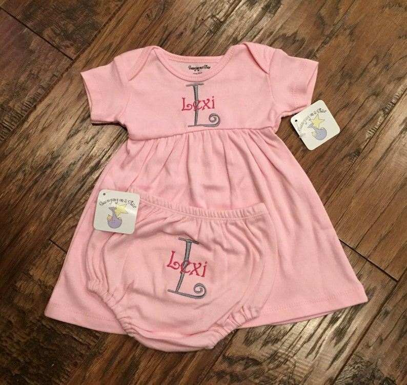 46b3b1d6a593 Personalized Baby Dress   Baby Clothes   Cute Baby Clothes