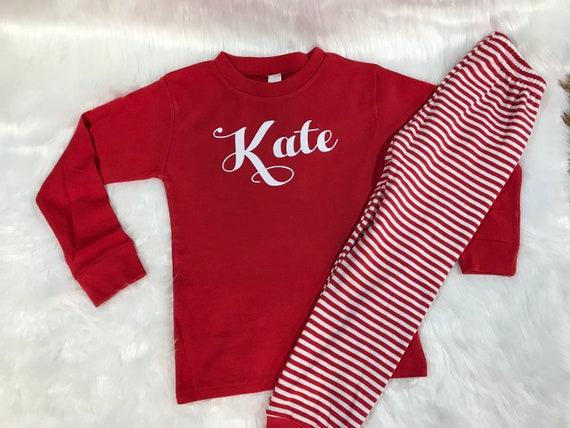 Personalized PJs   Baby Christmas PJs   Christmas Pajamas    d35407e44