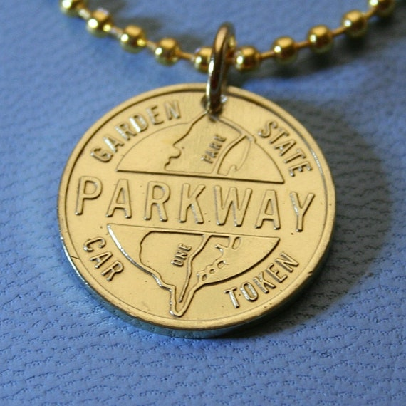 Garden State Parkway Transit Token Pendant - Vintage Br New Jersey on new york state toll roads map, new york state route 17, cross island parkway toll map, atlantic city, new jersey garden state parkway map, new jersey toll roads map, nj parkway map, interstate 78 in new jersey, palisades interstate parkway, garden state parkway map detailed, new york parkways map, florida turnpike toll map, atlantic city expressway, tappan zee bridge, nj state map, ny toll map, new jersey turnpike, galloway nj map, pa turnpike toll map, i-25 toll map, garden state parkway milepost map, driscoll bridge, city garden state parkway map, new york state thruway, new jersey turnpike map, interstate 95 in new jersey, garden state parkway exit map, long island motor parkway map, outerbridge crossing, i-95 toll map, e-470 toll map,