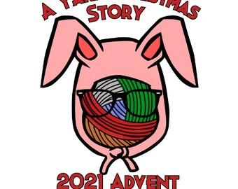 A Yarn Christmas Story Advent Calendar 2021 - Hand Dyed Yarn - Advent Yarn - PRE ORDER