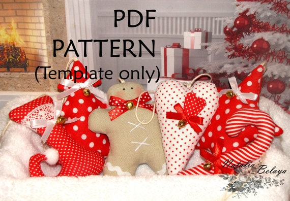 Christmas Ornament Sewing Pattern. Set of 6 pcs. Sewing Template Instant  Download. Digital PDF Files. - PDF Pattern. Christmas Ornament Sewing Pattern. Set Of 6 Pcs. Etsy