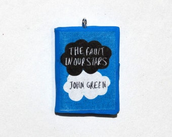 The Fault in our Stars Mini Book Charms