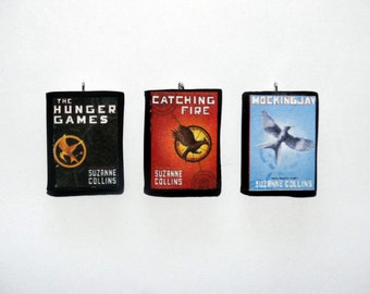 The Hunger Games Mini Book Charms