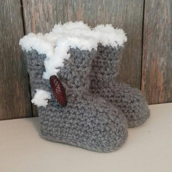 grey baby ugg boots