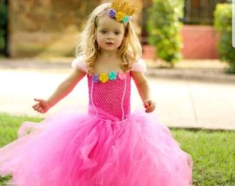 Pink Princess Costume / Pink Princess Tutu / Halloween Costume / Halloween Tutu / Tutu Costume / Cute Girls Costume / Little Princess  sc 1 st  Etsy & Princess costume | Etsy