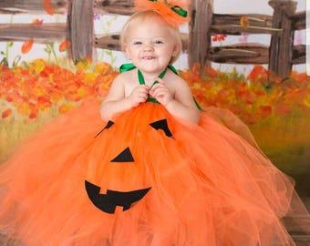 Little Pumpkin Costume Jack O Lantern Costume Baby Pumkin Costume Adorable Baby Costume Baby Halloween Costume Tutu Halloween Costume  sc 1 st  Etsy & Baby pumpkin costume   Etsy