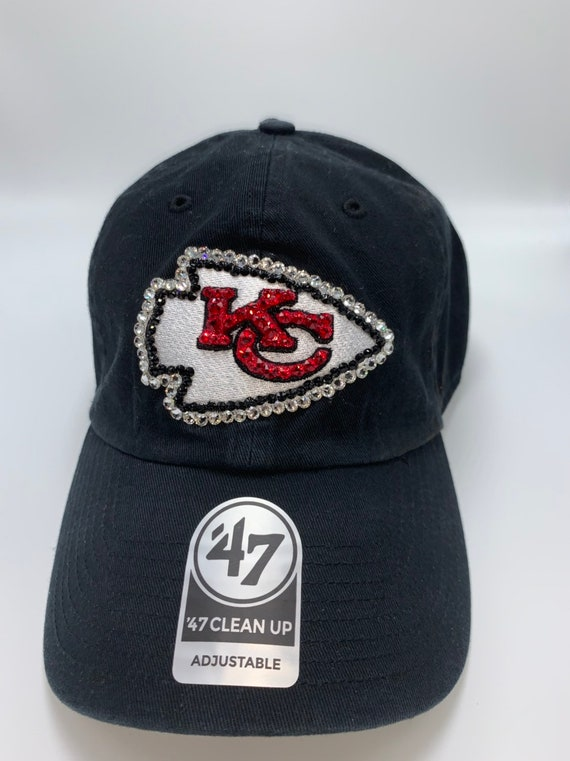 cheap for discount amazing price best service kansas city chiefs womens sparkle 47 brand rhinestone bling nfl ...