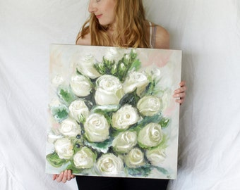 Custom Wedding Bouquet Painting
