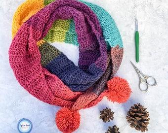 Chroma Scarf Crochet Pattern PDF Download
