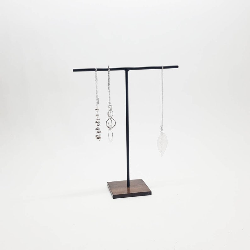 Necklace Stand Jewelry Display Necklace Holder T Stand image 0