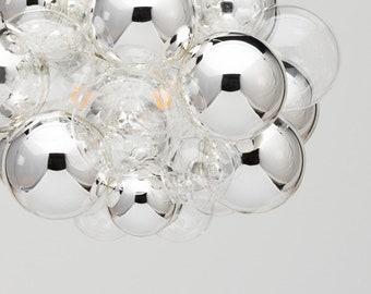 Bubble chandelier etsy chrome bubble finish bubble chandelier upgrade aloadofball Choice Image