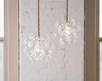 """The 18 Bubble Chandelier (13"""" diameter) • LED lighting • Ceiling Light • Bubble Light • Pendant Light"""