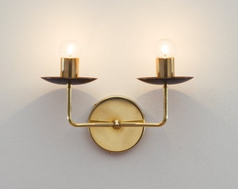 The Candle Sconce • Wall Sconce • Nursery Light • Vanity Light • Dual Wall Light • Hard-wired Sconce