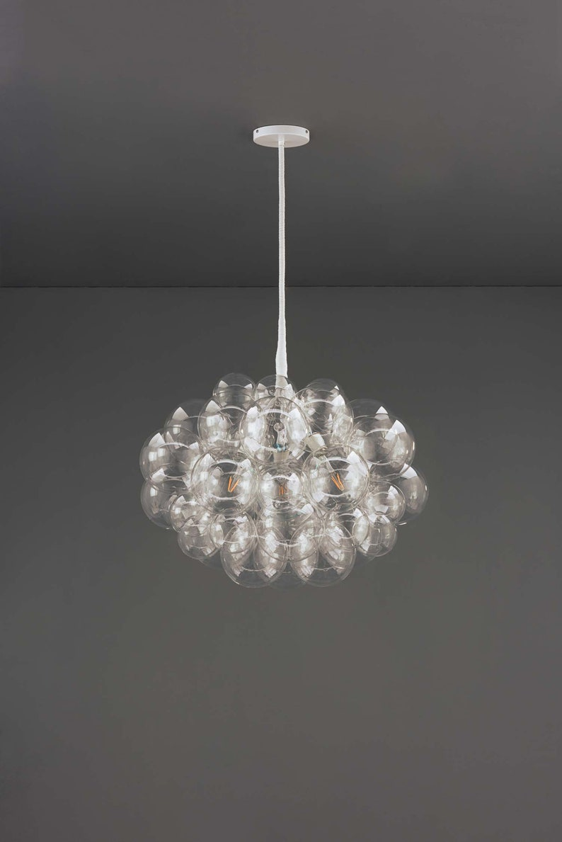 The 45 Bubble Chandelier Light Dining Room