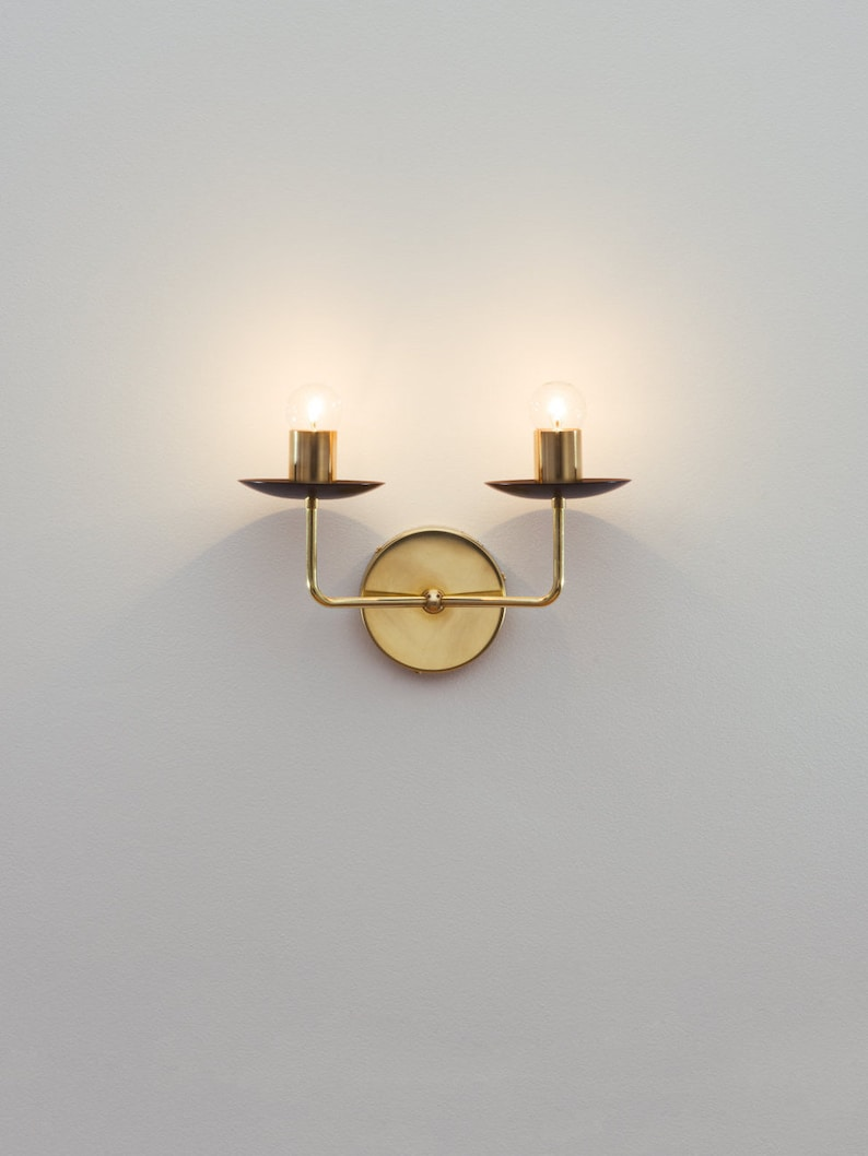 best sneakers 08623 0de82 The Candle Sconce • Wall Sconce • Nursery Light • Vanity Light • Dual Wall  Light • Hard-wired Sconce