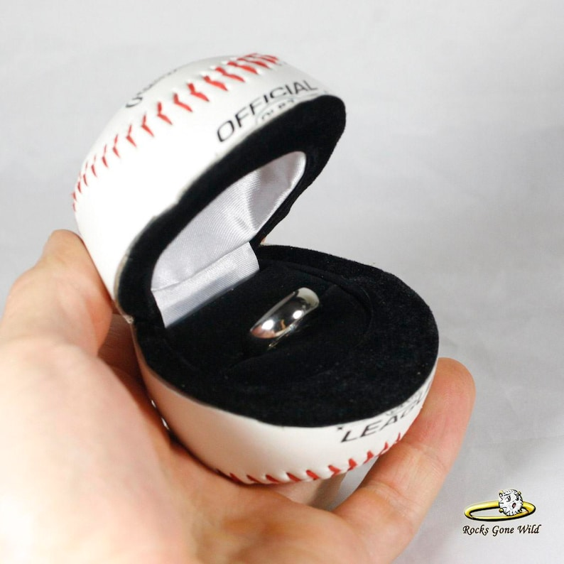 Will you marry me? Baseball Ring Box