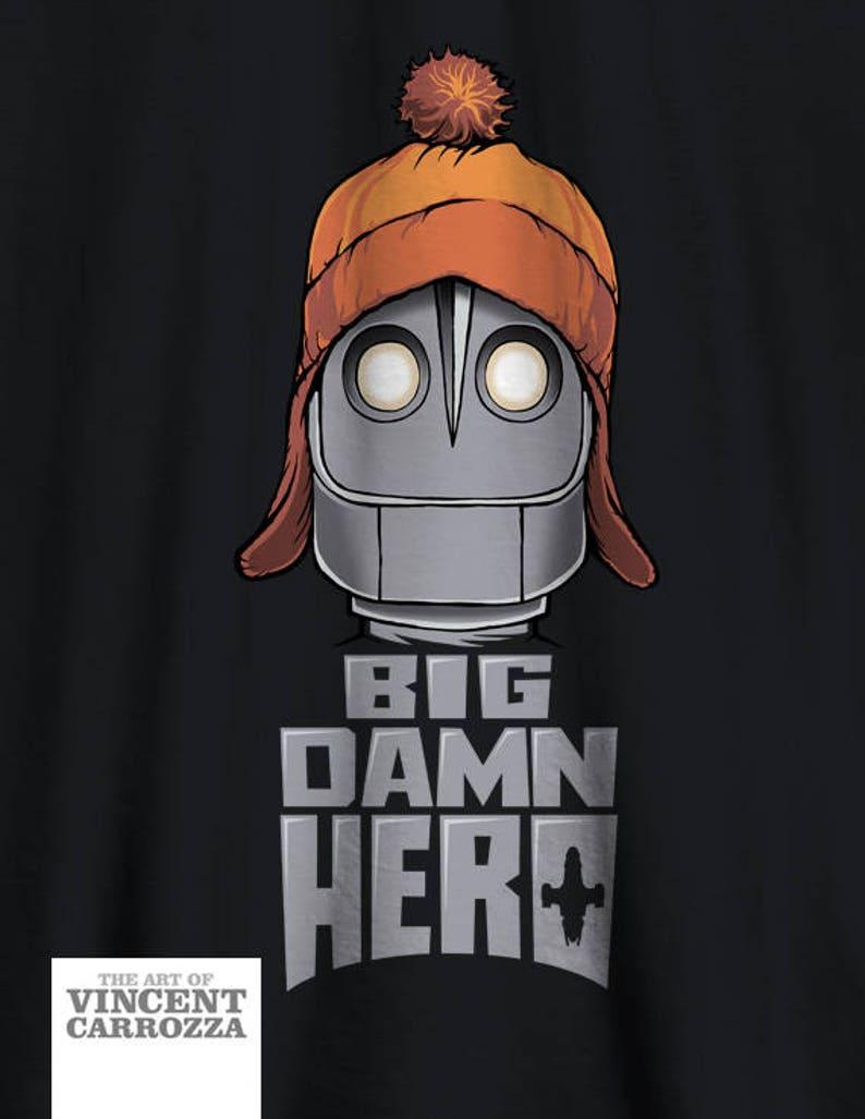 Firefly t-shirt Serenity Iron Giant BIG DAMN HERO Jayne Cobb image 0