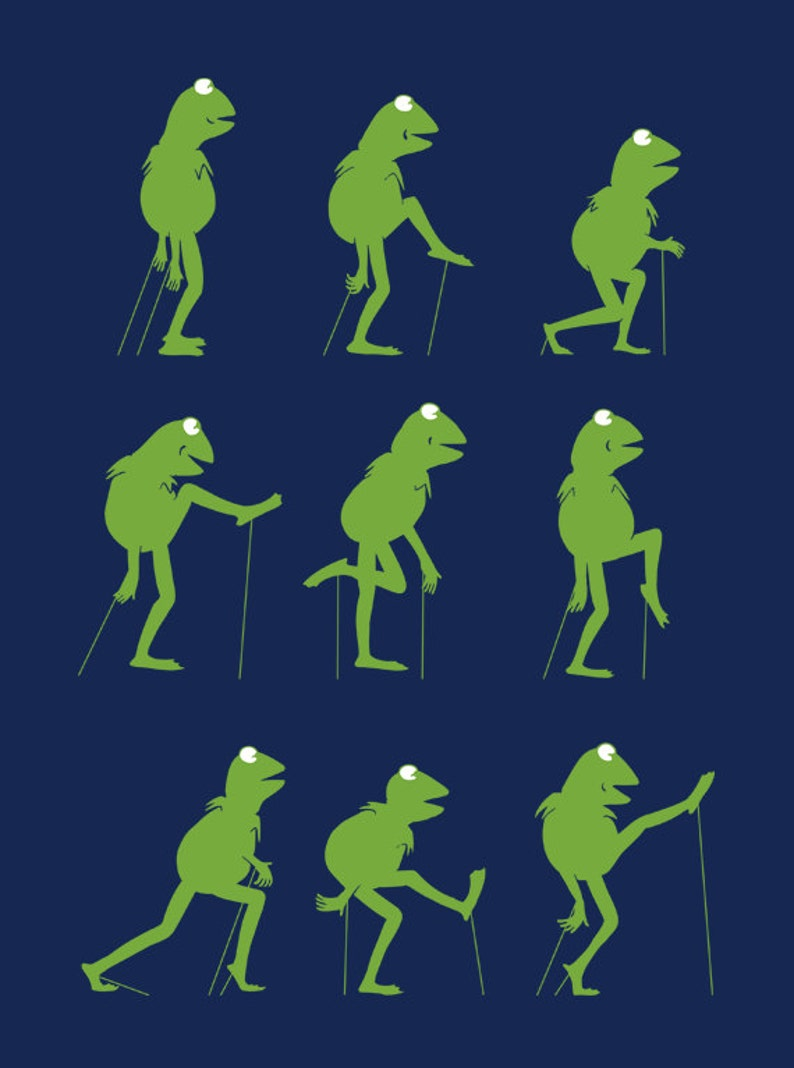 67d4910a Ministry of Silly Frog Walk Monty Python tshirt | Etsy