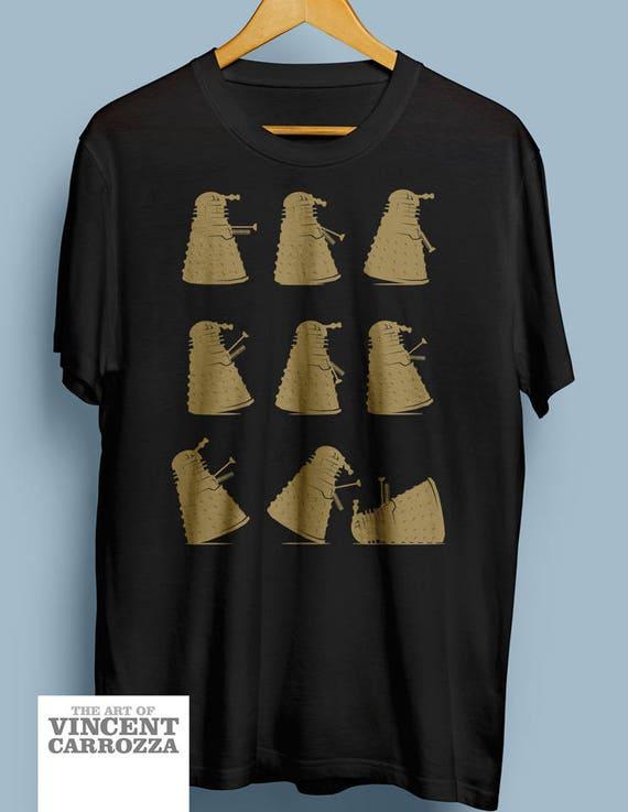 4abfa36e3 Doctor Who t-shirt Dalek Tshirt Ministry of Silly Dalek | Etsy