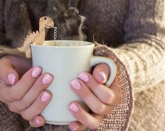 Rawr Tea Infuser, dinosaur tea steeper