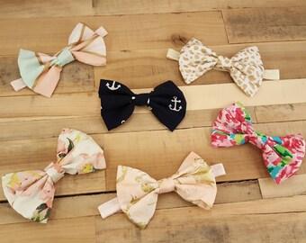 Baby Headband, Baby Girl Headband, Baby Girl Gift, Baby Girl Bows, Bow, Hair Bow, Newborn Headband, Headbands, Baby Bows, Baby Shower, Baby