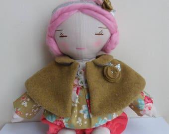 Clarisse linen doll.