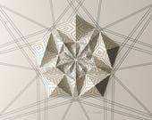 Geometric Wall Decoration...